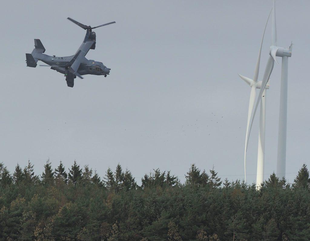 Helikopter, Bygholmengen/Thorup Fjordholme, september 2018. Foto: Jørgen Peter Kjeldsen/ornit.dk.
